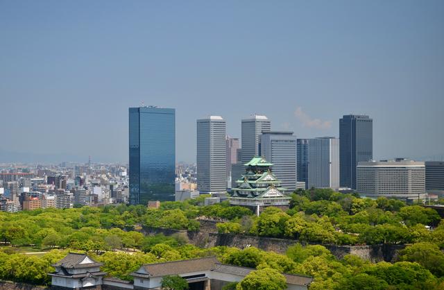 OBPと大阪城