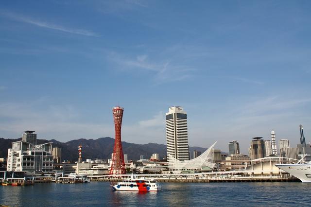メリケン波止場とポートタワー(PIXTA)