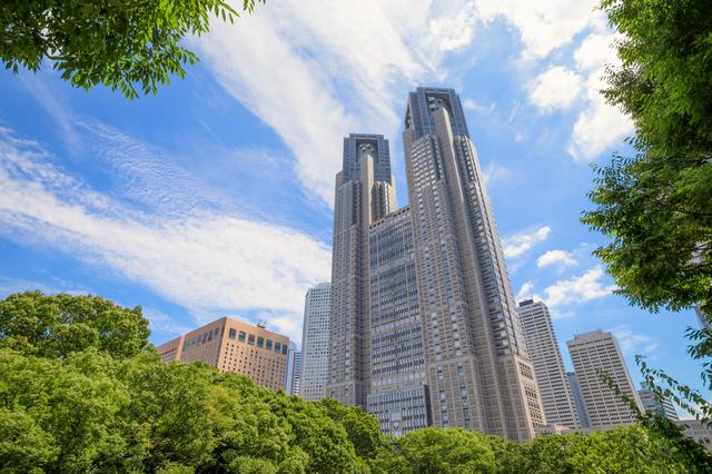 東京都庁(PIXTA)