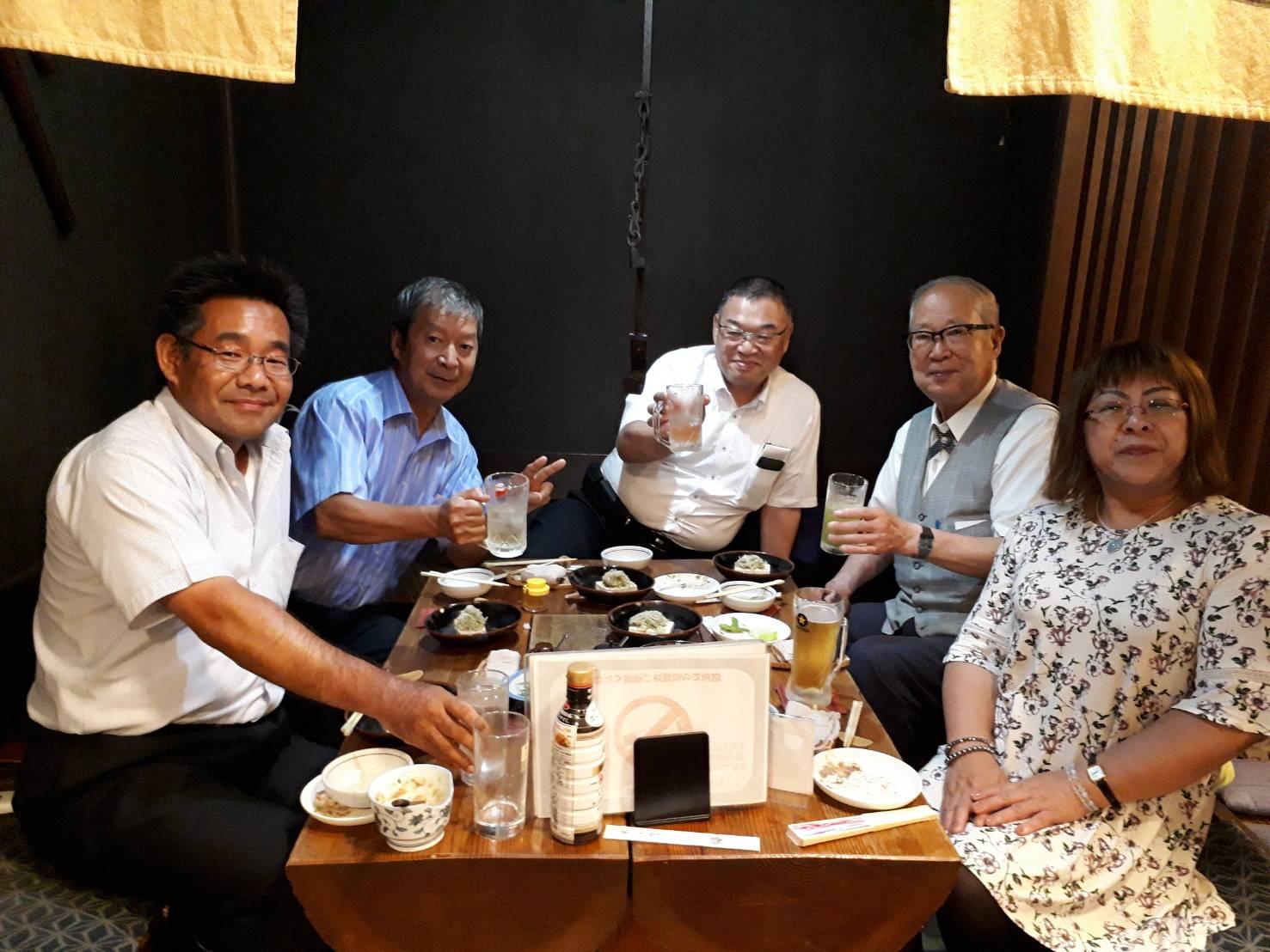 福島PHP松下幸之助経営を学ぶ会役員懇談会20180731