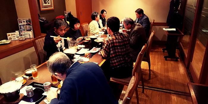 名古屋PHP 1月食事会