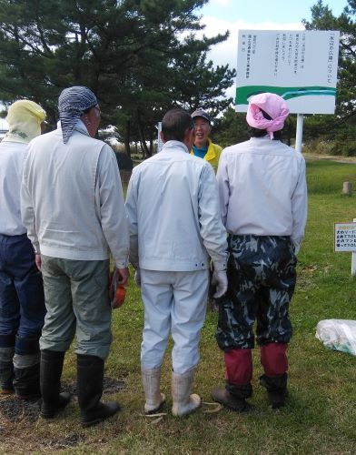 秋田友の会クリーン活動秋2020
